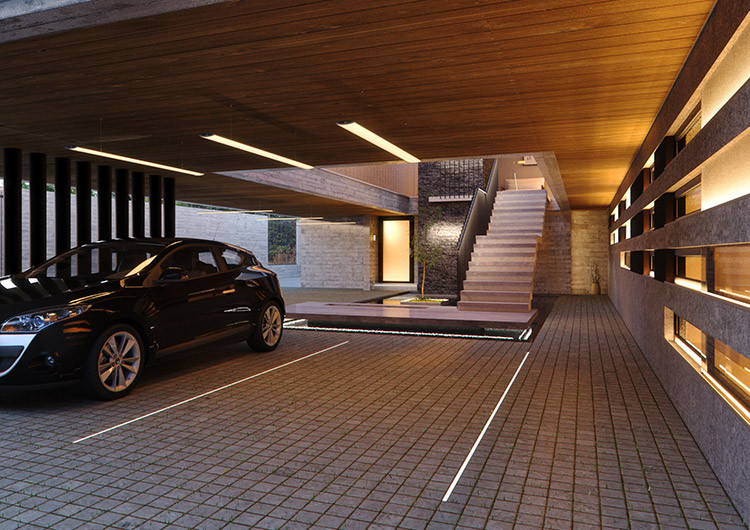 Led Lighting For Parking And Garage Klusdesign Com